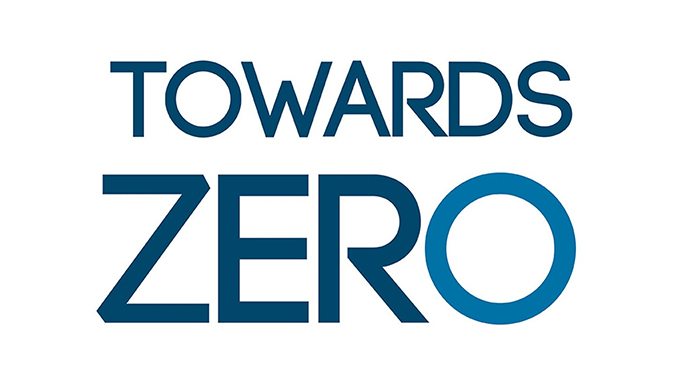 Towards Zero logo in colour