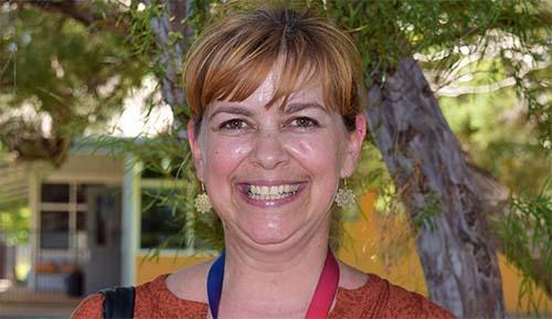 Taryn Roser is Territory teacher aide finalist