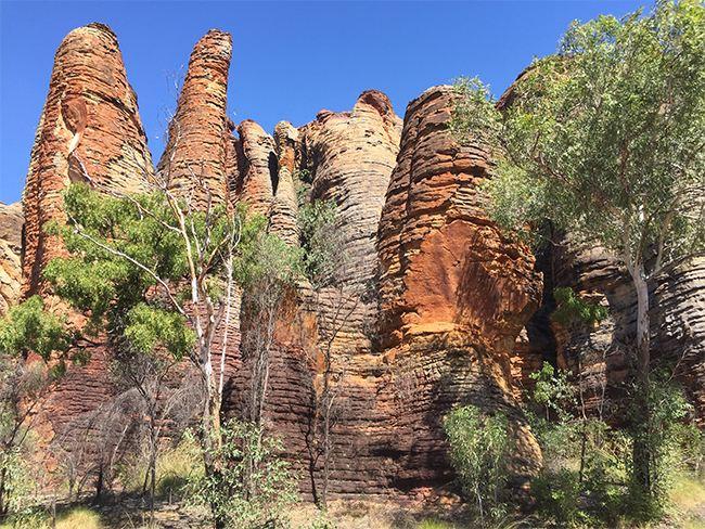 Limmen National Park - Striking sandstone formations