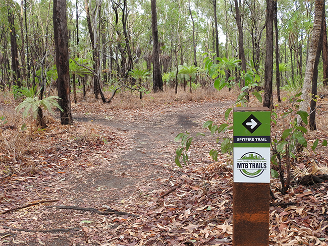 Charles Darwin National Park - MTB trails