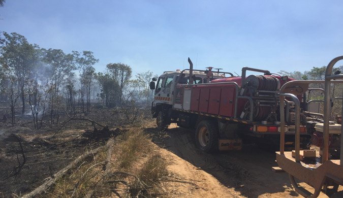 Severe fire weather set to return to the Top End