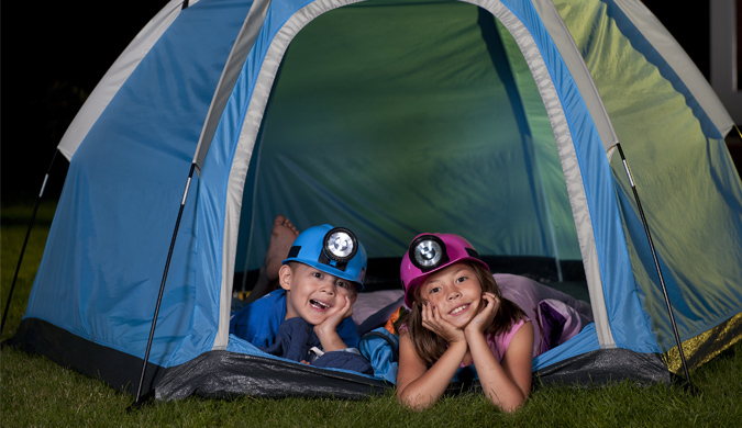 Camp in your own backyard this Easter