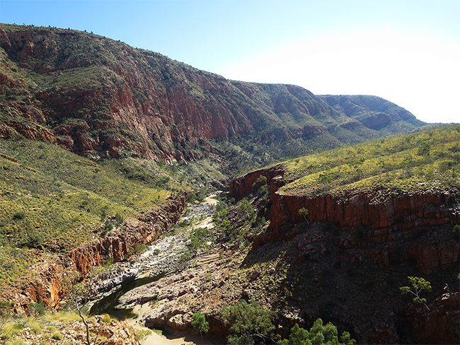 Ormiston Gorge: Tjoritja / West MacDonnell National Park