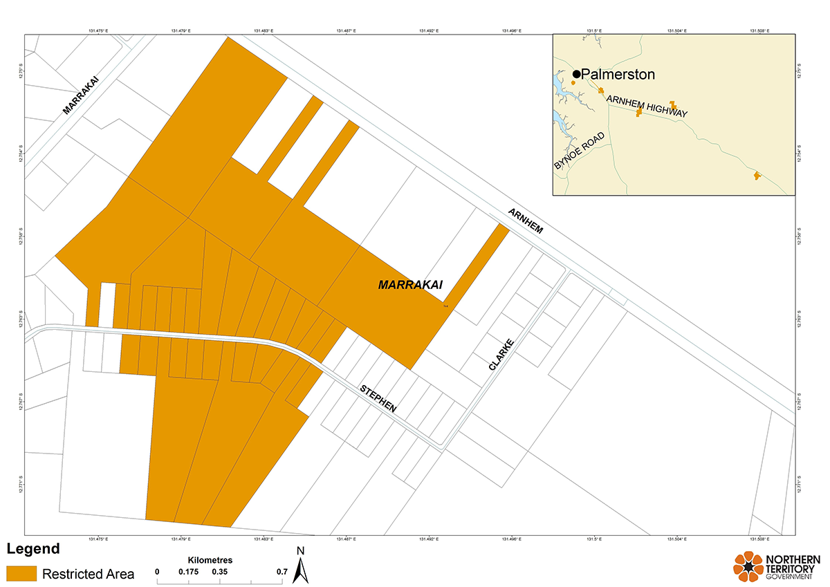 Marrakai restricted area