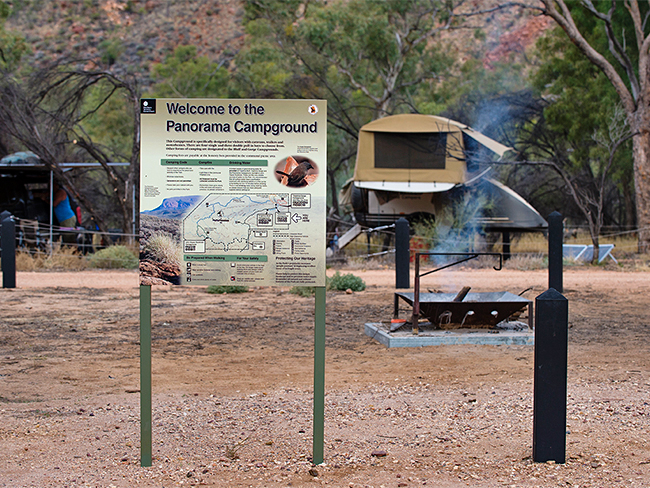 Trephina Gorge Nature Park - Panorama campground