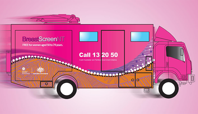 BreastScreenNT brings cancer screening to you