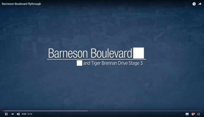 Barneston boulevard flythrough
