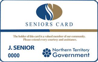 NT Seniors card