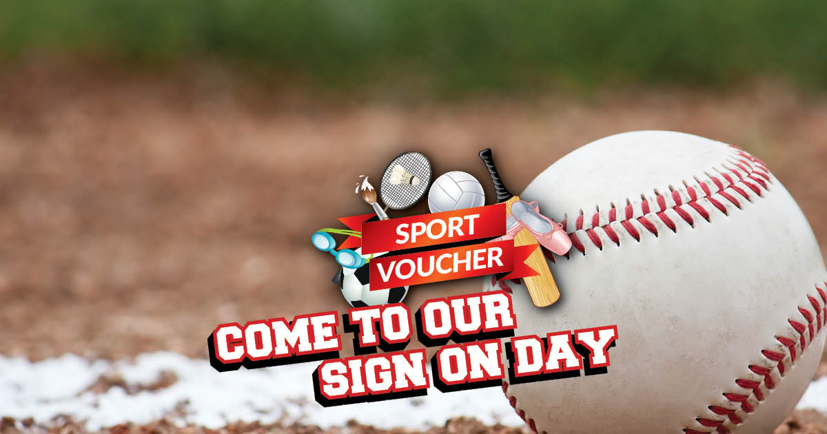 Decoration: Sport voucher accepted