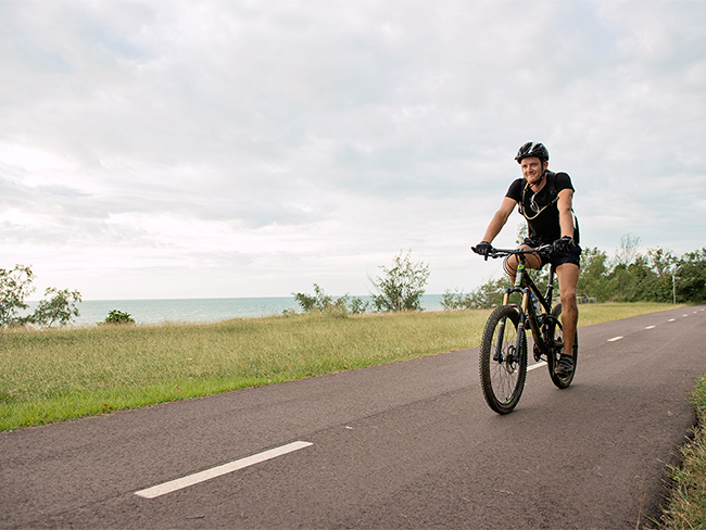 Casuarina Coastal Reserve - Cycling