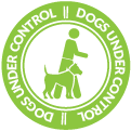Dogs under control icon