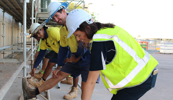 Helping Territory tradies stay healthy