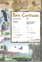 Wildlife birth certificate