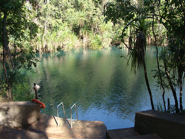 Berry Springs Nature Park second pool