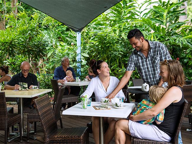George Brown Darwin Botanic Gardens - Eva's Café