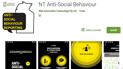 New app for easy reporting of anti-social behaviour