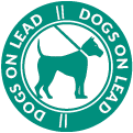 Dogs on lead icon