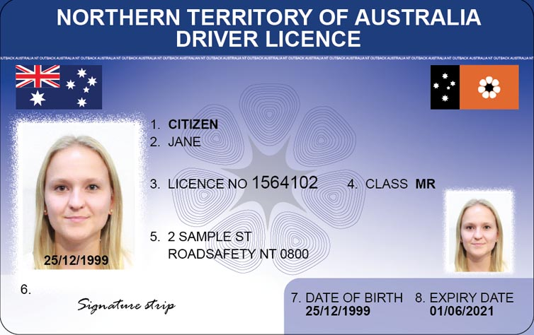 Changes to NT driver licences and photo ID cards