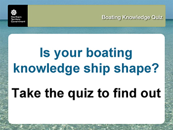 Boating Knowledge Quiz website