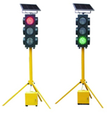 Mobile traffic signal device