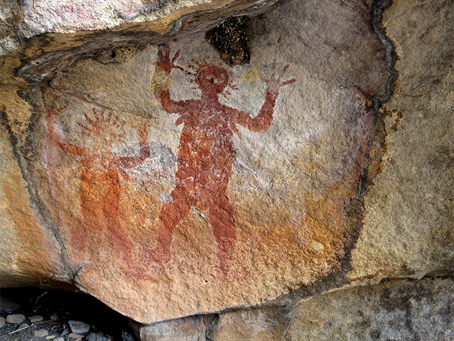 Nitmiluk National Park - Rock art