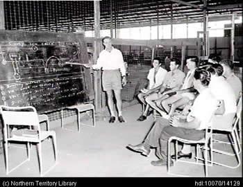 NT Training history: 1950s