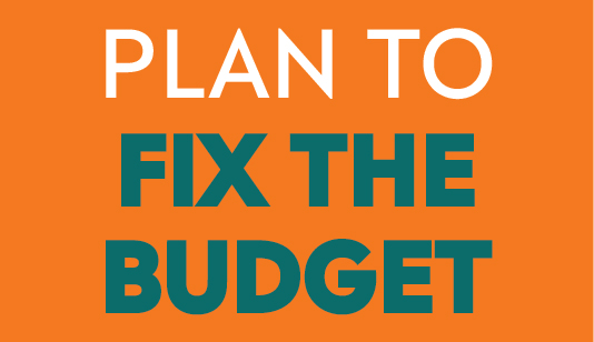 A plan to fix the budget