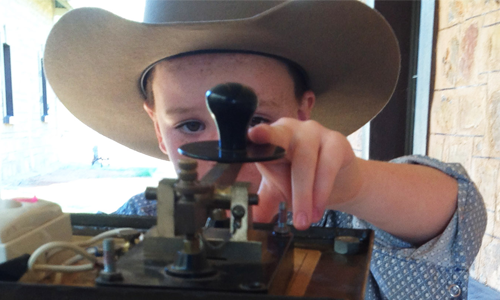 The Alice Springs Telegraph Station reverted to the late 1880s in one day