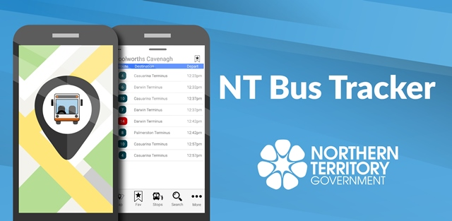 NT Bus Tracker app has been updated