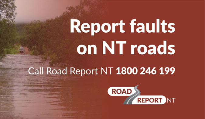 Report a road fault or hazard
