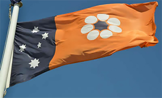 The Northern Territory (NT) flag