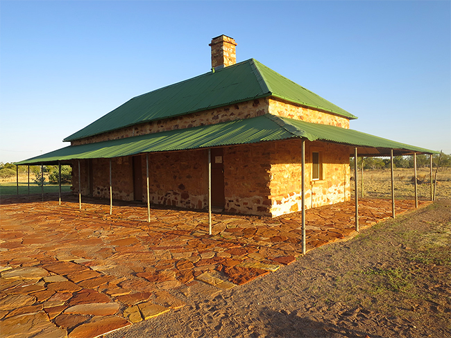 Tennant Creek Telegraph Station Historical Reserve close up