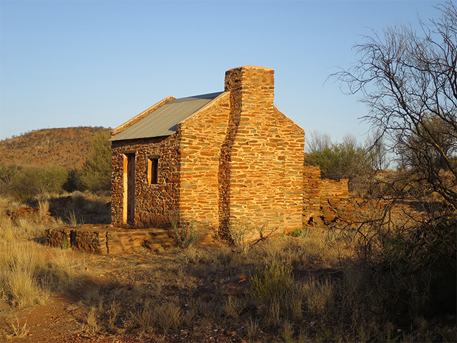 Arltunga Historical Reserve - Government workers house