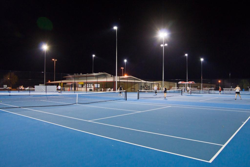 Palmerston tennis and netball courts