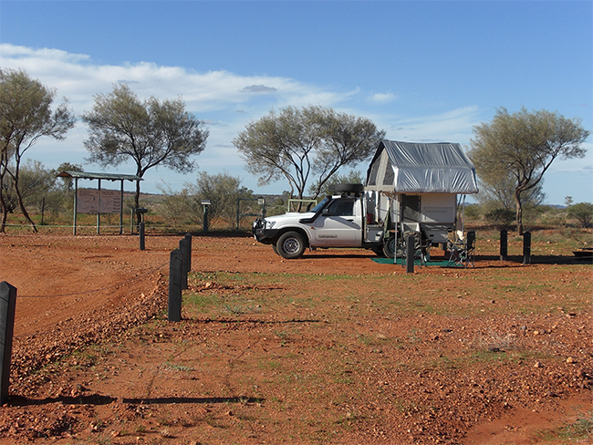 Henbury Meteorites Conservation Reserve - camping area