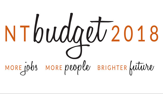 NT budget 2018 - More jobs, more people, brighter future