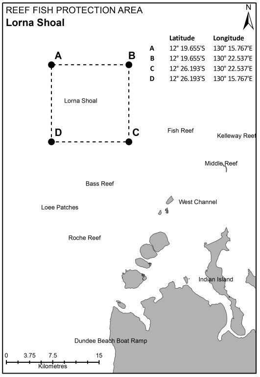 Reef fish protection area - Lorna Shoal