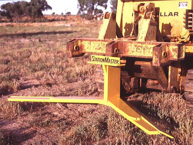 Example of a blade plough
