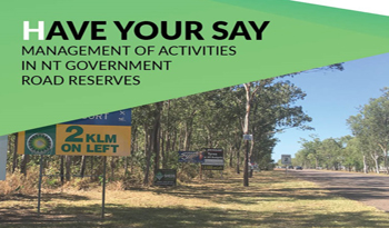 Regional forums to discuss NT Government road reserves
